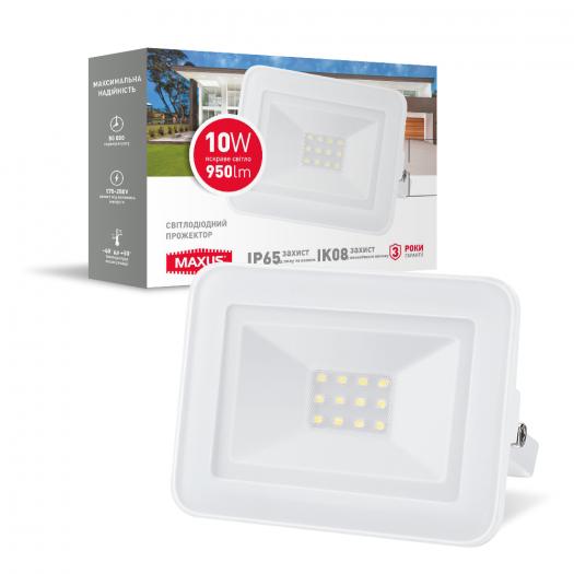 Світлодіодний прожектор MAXUS FL-02 10W, 5000K