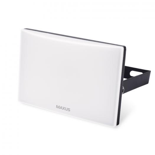 Прожектор светодиодный MAXUS FL-03 10W, 5000K Black