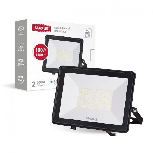 Прожектор світлодіодний MAXUS FL-04 100W 5000K