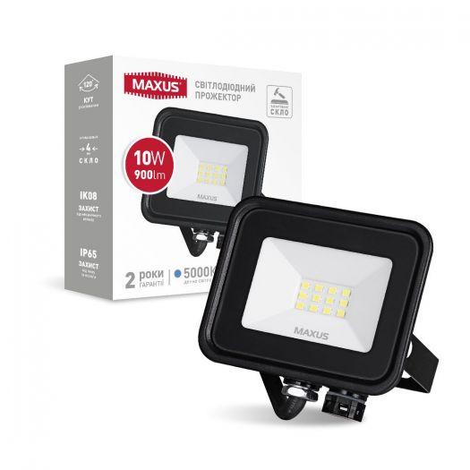 Прожектор світлодіодний MAXUS FL-04 10W 5000K