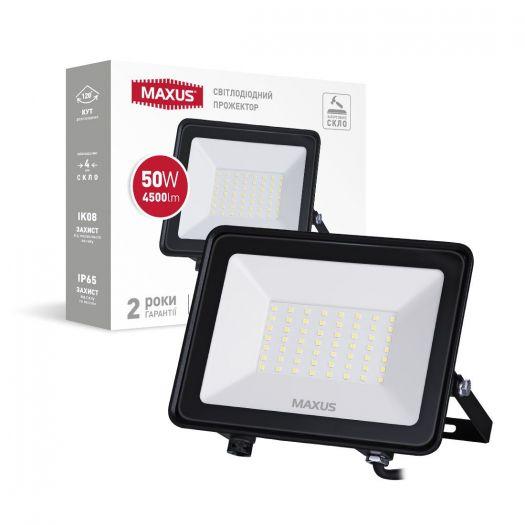 Прожектор світлодіодний MAXUS FL-04 50W 5000K