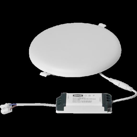 LED светильник точечный врезной MAXUS SP edge 36W, 4100К (круг)