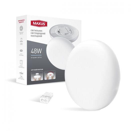 LED светильник точечный врезной MAXUS SP Surface 48W 4100K Circle