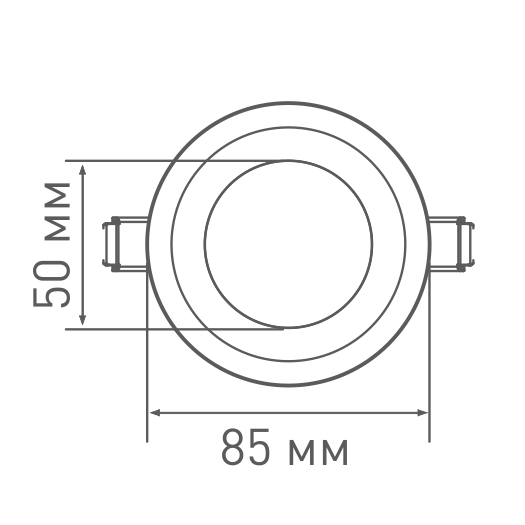 LED светильник MAXUS SDL