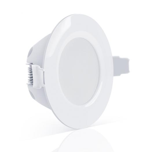 LED светильник точечный врезной MAXUS SDL, 8W яркий свет (1-SDL-006-01)