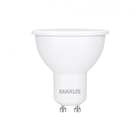 Лампа світлодіодна MAXUS 1-LED-721 MR16 7W 3000K 220V GU10