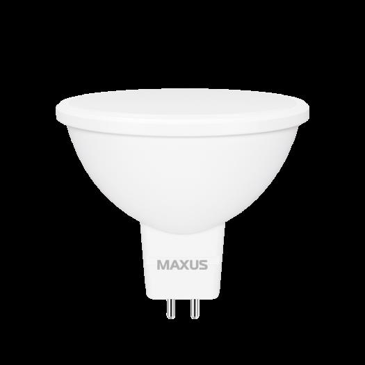 Лампа світлодіодна MAXUS 1-LED-722 MR16 7W 4100K 220V GU5.3