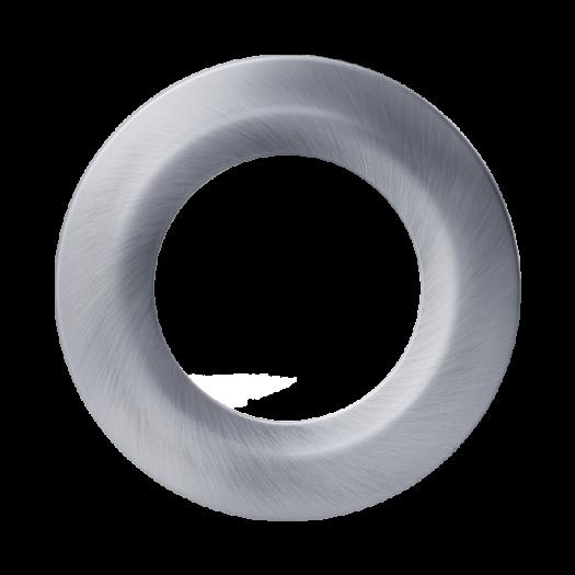 Деко.накладка для LED світильника SDL mini Сатин-нікель (по 2 шт.)