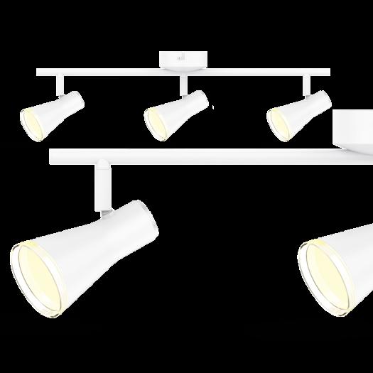 Спотовый светильник MAXUS MSL-02C 3x4W 4100K белый