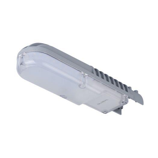 Уличный светильник GLOBAL STREET LED 30Вт, 3000Лм, 5000К, IP66, широкая КСС
