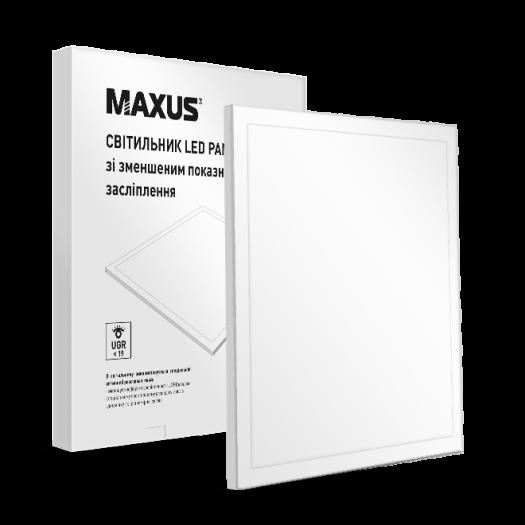 Led панель 600x600 MAXUS 36W 4000К (UGR<19)