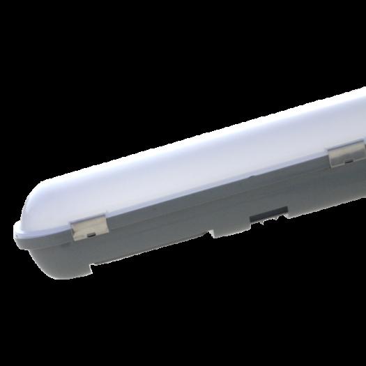 Світильник лінійний, 1200 мм, 40Вт, 4400Лм, 5000К, IP65, пластик