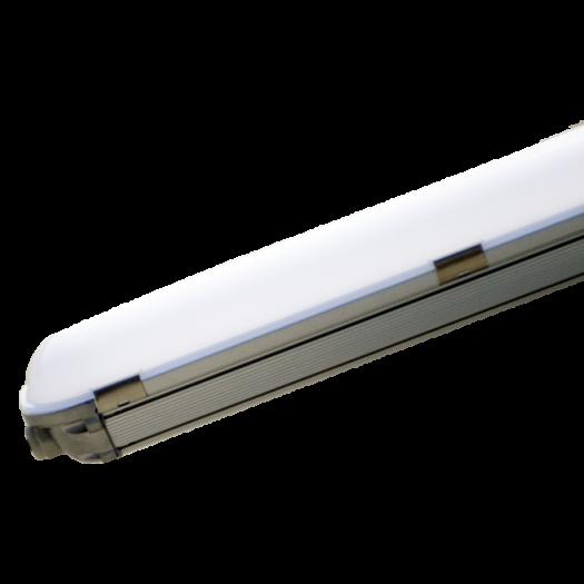 Светильник линейный, 1500мм, 72Вт, 6480Лм, 5000К, IP65, алюминий