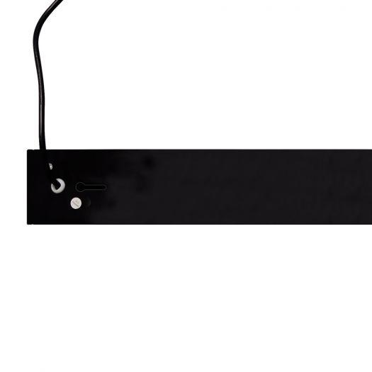 Світильник лінійний Maxus assistance Line Slim Pro 40W 80Ra 3000K 1200mm PJ140B UpDown IP20 Black linkable