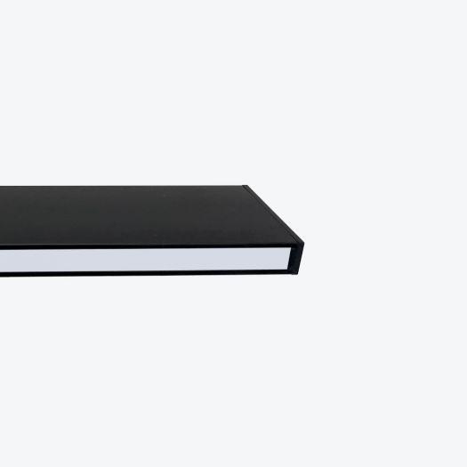 Світильник лінійний Maxus assistance Line Slim Pro 30W 80Ra 4000 900mm 140B Down IP20 Black