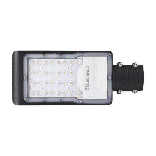 Светильник уличный консольный Maxus assistance Street Basic 30W 850 GR