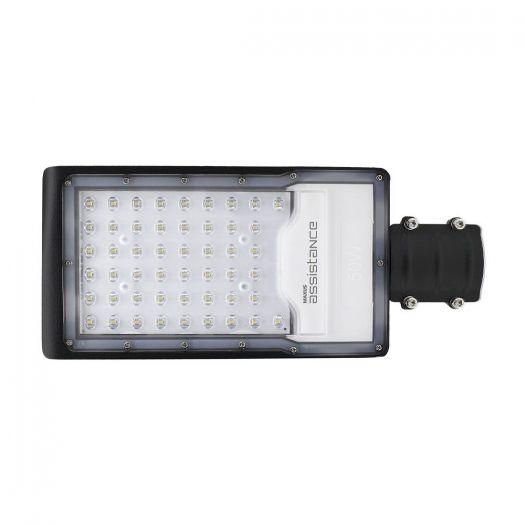 Світильник вуличний Maxus assistance Street Basic 50W 850 GR